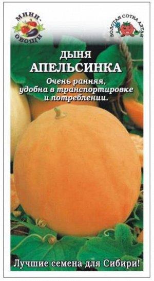 Дыня Апельсинка Мини-овощи ЦВ/П (Сотка) раннеспелый