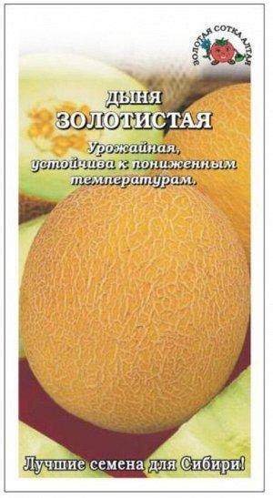 Дыня Золотистая ЦВ/П (Сотка) среднеранний
