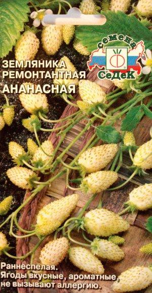Земляника Ананасная ЦВ/П (СЕДЕК) 0,04гр ремонтантная безусая