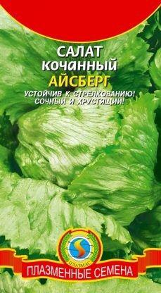 Салат Айсберг ЦВ/П (ПЛАЗМА) раннеспелый кочанный