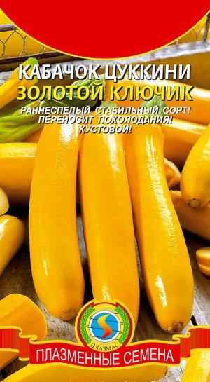 Кабачок Цуккини Золотой ключик ЦВ/П (ПЛАЗМА) 10шт раннеспелый