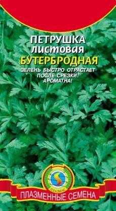 Петрушка листовая Бутербродная ЦВ/П (ПЛАЗМА) среднеспелая