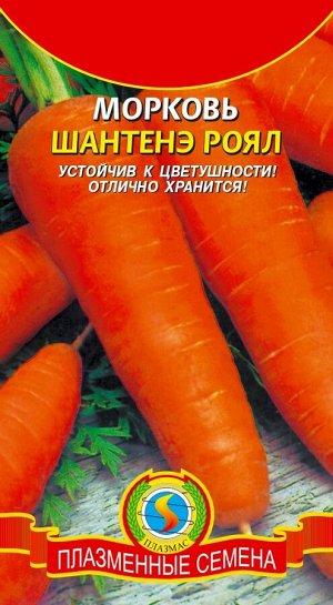 Морковь Шантене Роял ЦВ/П (ПЛАЗМА) среднеспелый