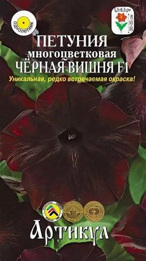 Цветы Петуния Чёрная Вишня ЦВ/П (АРТИКУЛ)