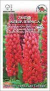 Цветы Люпин Алые Паруса ЦВ/П (Сотка) 0,5гр многолетнее до 1,2м