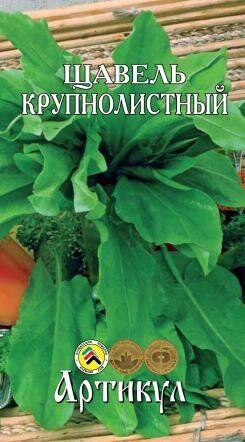 Щавель Крупнолистный ЦВ/П (АРТИКУЛ) раннеспелый