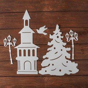 Набор декоративных наклеек «Новогодняя история»