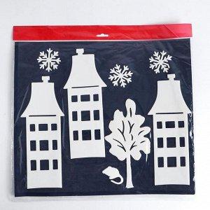 Набор декоративных наклеек «Новогодний уют»