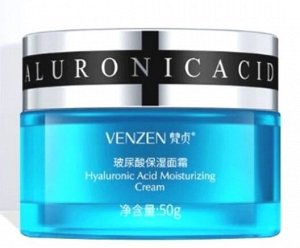 VENZEN Глубоко увлажняющий крем для лица Hyaluronic Acid Moisturizing Cream с гиалуроновой кислотой 50 гр