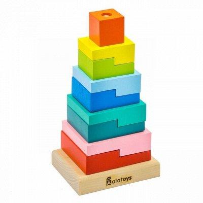 Фабрика деревянных игрушек! Лучшее для Ваших детей!  — ПИРАМИДКИ — Деревянные игрушки