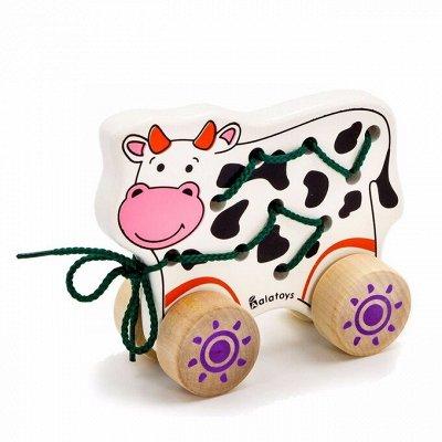 Фабрика деревянных игрушек! Лучшее для Ваших детей!  — ШНУРОВКИ-КАТАЛКИ — Деревянные игрушки