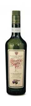 """Масло оливковое нерафинированное Экстраверджине в.к.""""""""Frantoio di Santa Tea""""""""Raccolta di olive nere""""""""(из черных оливок) ст/б (0.500л/0,458 кг)"""