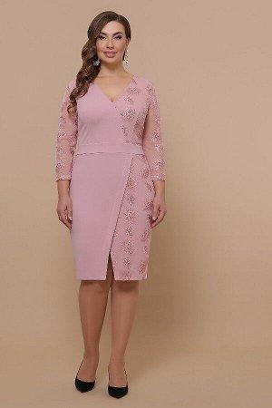 Платье Лария-Б д/р (лиловый)