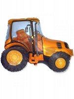 Фольга шар Трактор оранжевый 12''/30 см 1 шт Испания