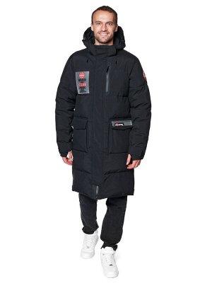 Пальто A-8910 Черный