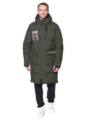 Пальто A-8910 Хаки