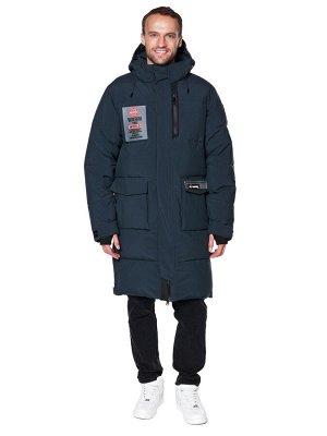 Пальто A-8910 Серый