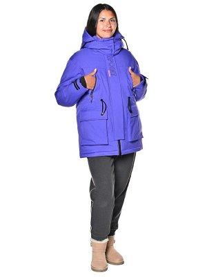 Куртка B-8961 Фиолетовый