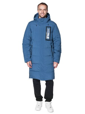 Пальто A-8902 Джинсовый