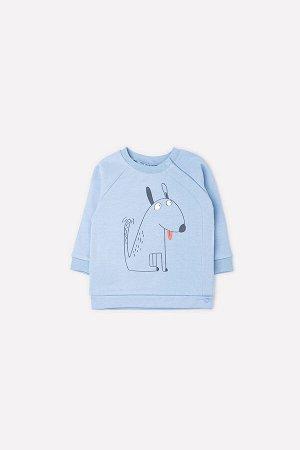 Джемпер(Осень-Зима)+baby (пыльно-синий(щенок))