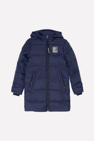 Пальто Цвет: фиолетово-синий; Утеплитель: с утеплителем; Вид изделия: Изделия из мембраны; Рисунок: фиолетово-синий; Сезон: Осень-Зима Удлинённая стёганая куртка для мальчика с утеплителем Fellex®, 3