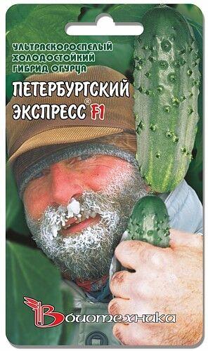 Огурец Петербургский Экспресс/Биотехника/цп 8 шт