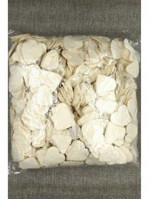 Конфетти Сердца 4 см тишью 1000 гр