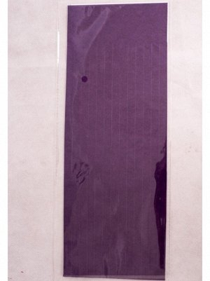 Помпон тассел бумага тишью темно-фиолетовый