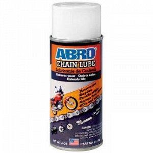 """Смазка """"ABRO"""" для цепей, аэроз. 113 гр."""