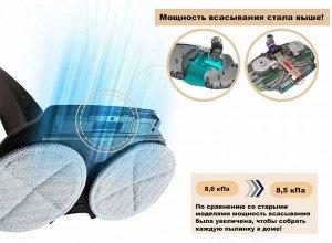 Беспроводной полотер - пылесос SWING-8500 (синий)м