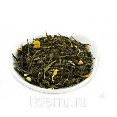 Вкусности. Орехи и сухофрукты - Упаковка от 250гр — Зеленые ароматизированные чаи (Премиум)