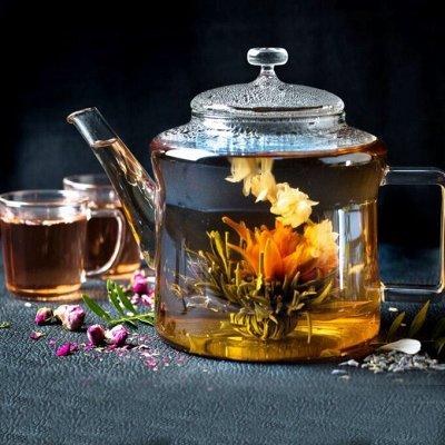 🍭Дарите вкусные подарки! Супер шоколад, чай! Акция на кофе! — Шикарный распускающийся чай,  супер на подарок — Чай