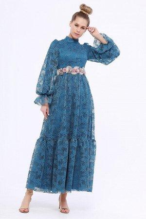 Платье Цвет: Индиго;