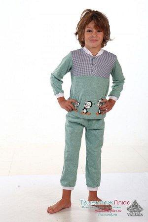 Пижама детская Кулирка (Принт в ассортименте)