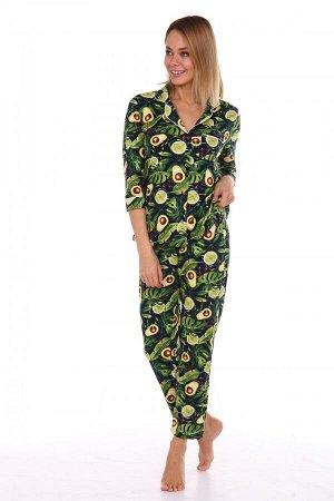 Пижама женская ML-Классика(Лимон)