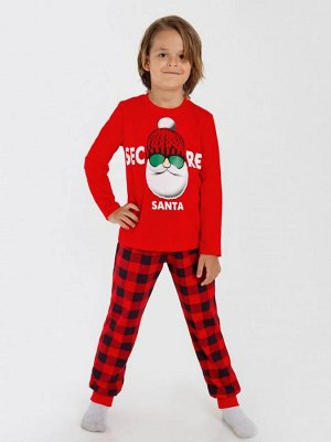Костюм детский Новогодний для мальчика(кулирка
