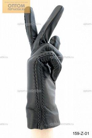 Перчатки женские лайковые