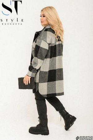 Пальто-рубашка 65629