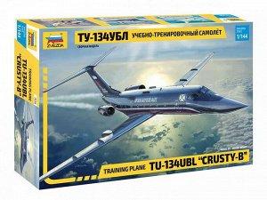 Сборная модель ZVEZDA Учебно-тренировочный самолет Ту-134УБЛ 1:14416