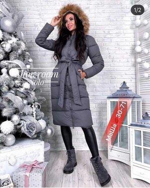 Куртка женская в размер. Ткань полиэстер, Наполнитель холлофайбер.