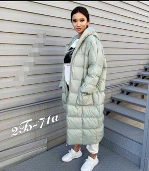 Куртка женская Оверсайз до -15. Размер единый 44-50.