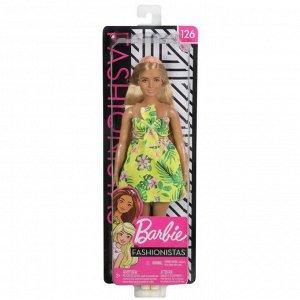 Кукла Mattel Barbie из серии Игра с модой, в платье с цветами18