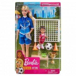 Игровой набор Mattel Barbie Футбольный тренер7