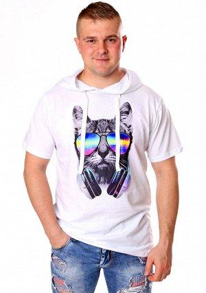 Футболка Круз (кот в очках) 3-934а