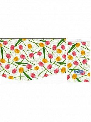 Скатерть для пикника Солнечные тюльпаны 120 х 180 см