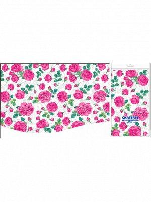 Скатерть для пикника Розовые розы 120 х 180 см