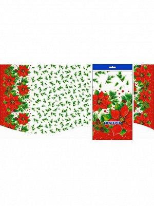 Скатерть для пикника Зимний цветок 120 х 180 см