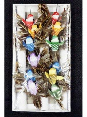 Птичка колибри 10см