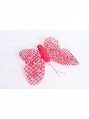 Птички/насекомые  бабочки на зажиме 203