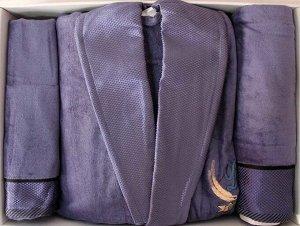 Набор 3-х пр. (халат,полотенце 50*90,70*140)